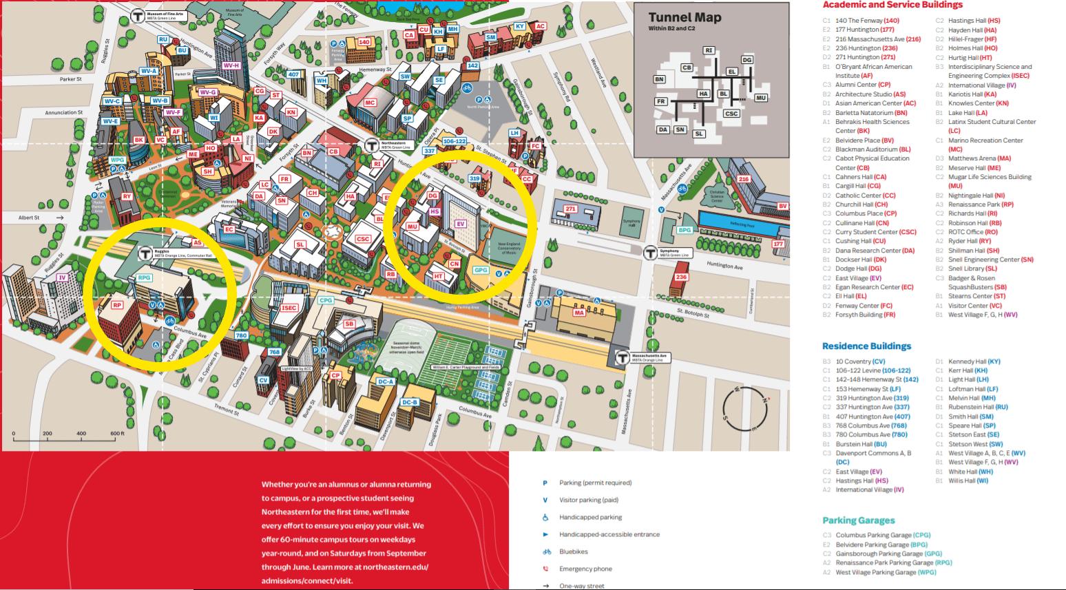 northeastern university map of campus Logistics Cpda Conference 2019 northeastern university map of campus